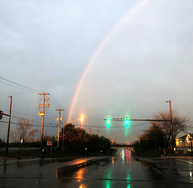 Reflection & Rainbow