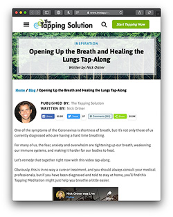 Spring is Here! — Open up your breath & lungs meditation with Nick Ortner