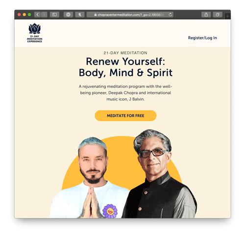 Renew Yourself Free Meditation